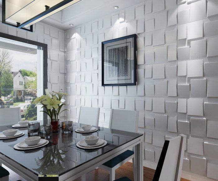 Elegant Textured Design Wall Panel