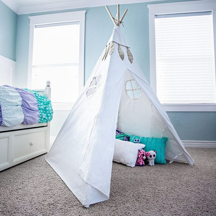 Fire and Feather Garland Kids Tent