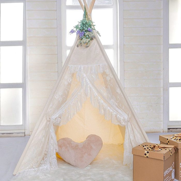 Floral Classic Kids Teepee Tent
