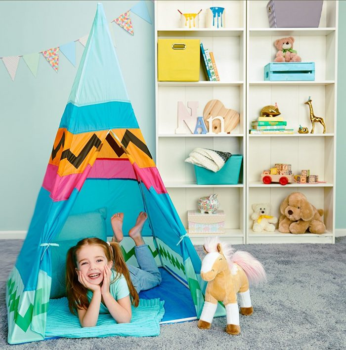 Indian Pretend Kids Teepee Tent