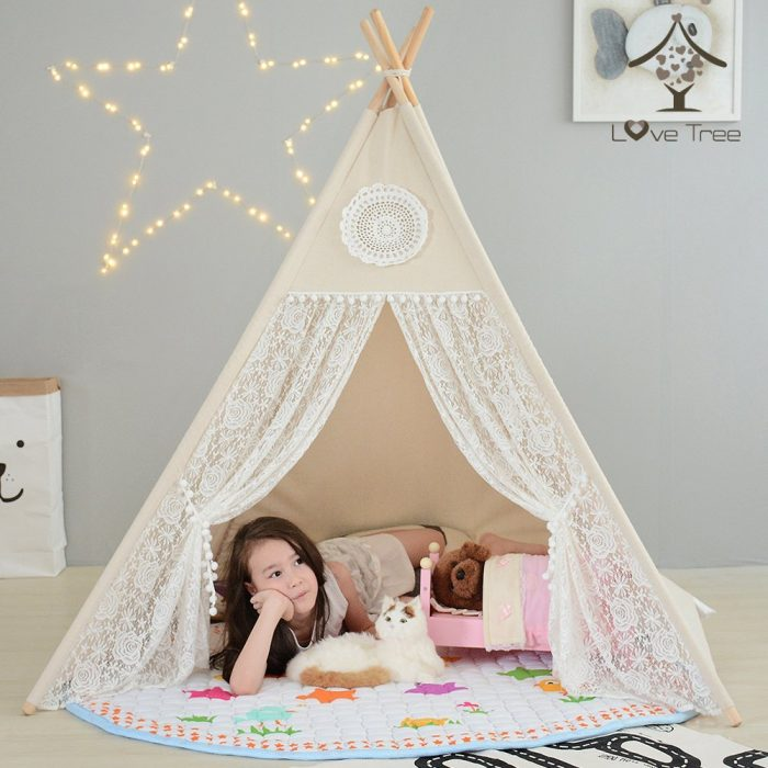Lace Style Kids Teepee Tent