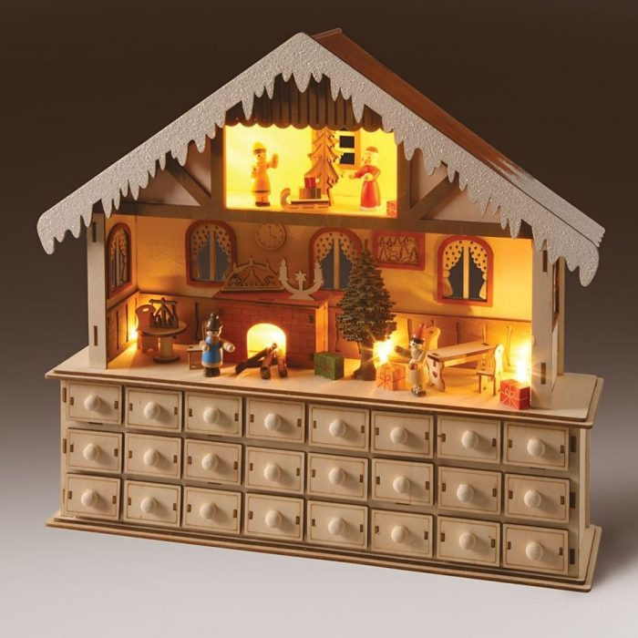 Lighted Enchanting Advent Calendar