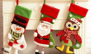 Lovely Traditional Christmas Stockings