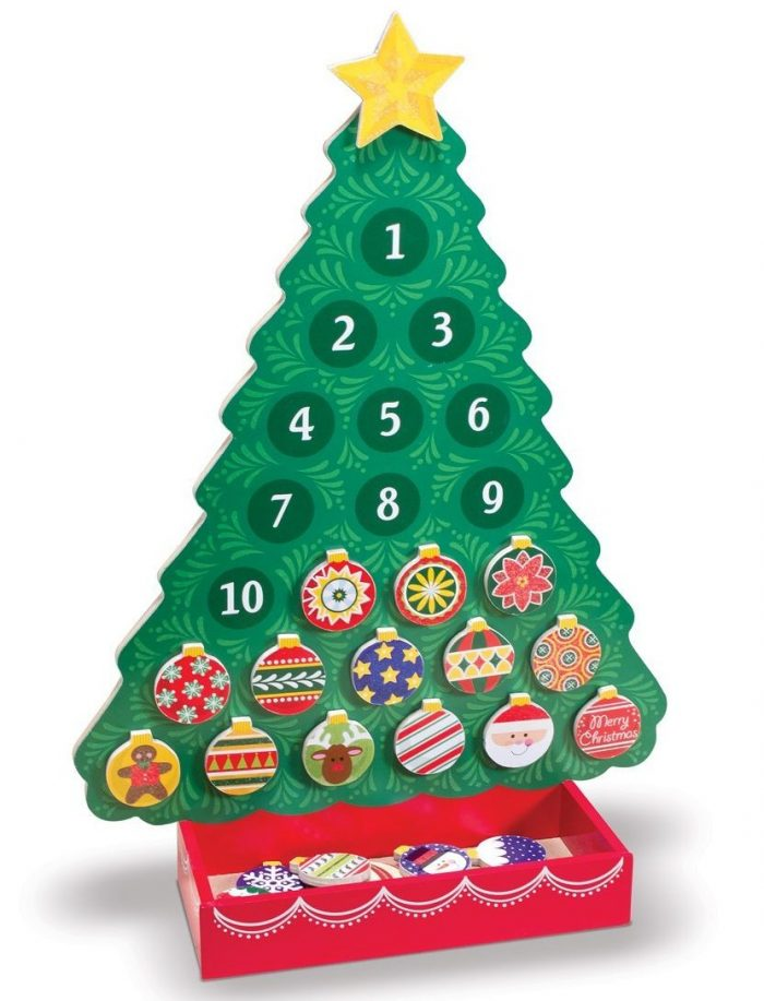 Magnetic Wooden Tree Calendar