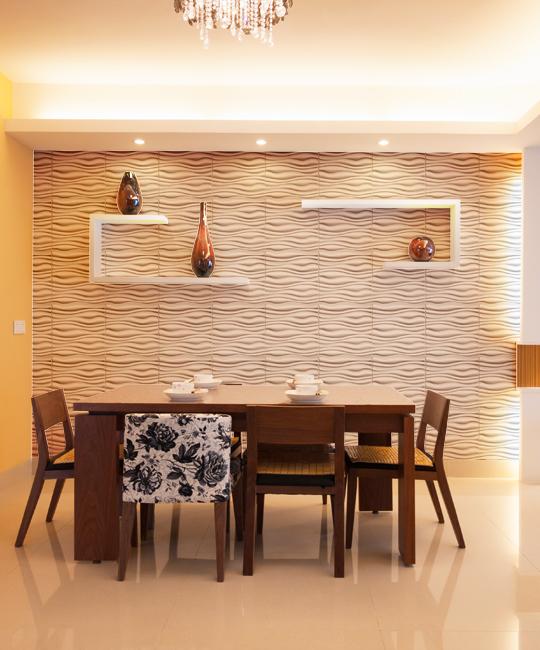 Matte White Ultra Modern Wall Panel