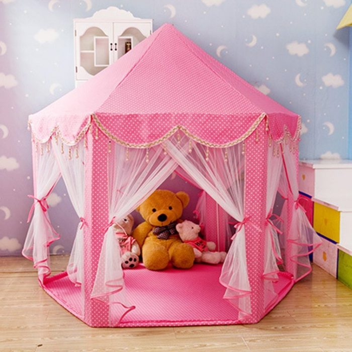 Play Tents with Beading Decoration