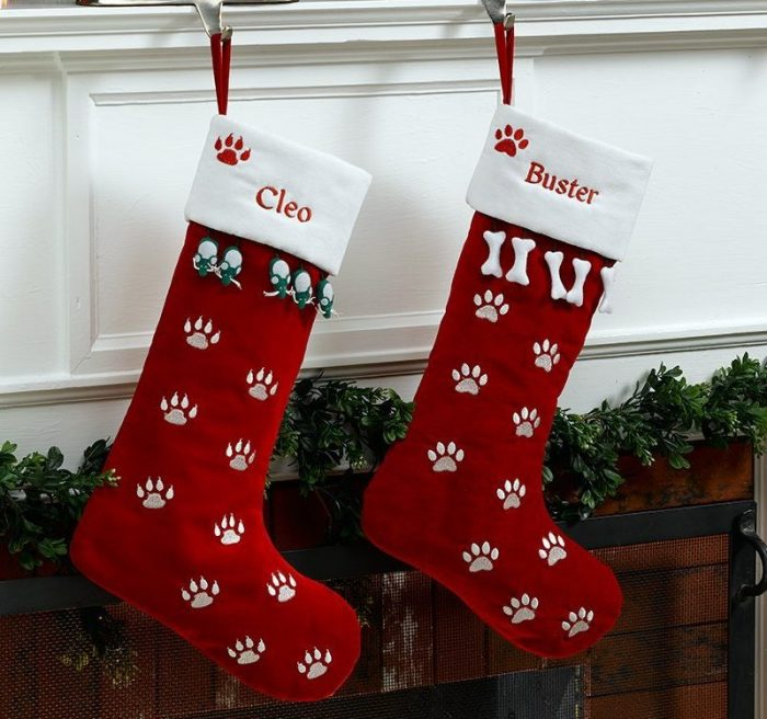 Red Velvet Christmas Stockings