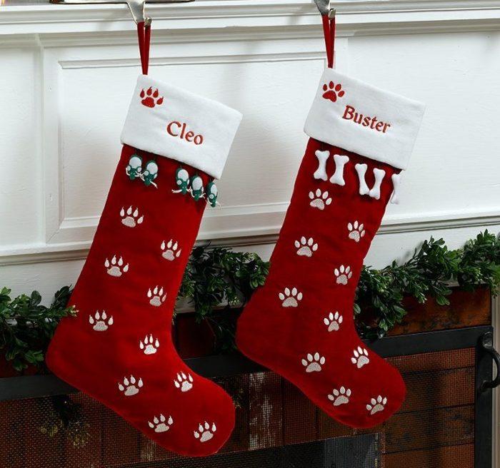 Red Velvet Christmas Stockings