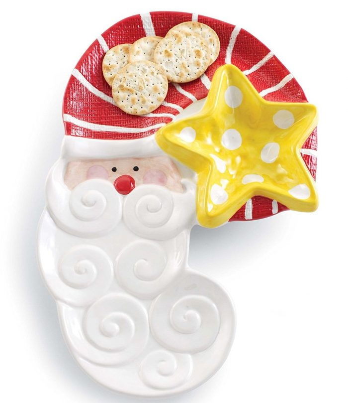 Red and White Santa Tableware