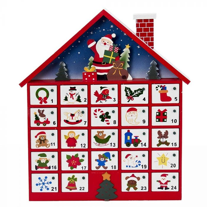 Santa House Advent Calendar
