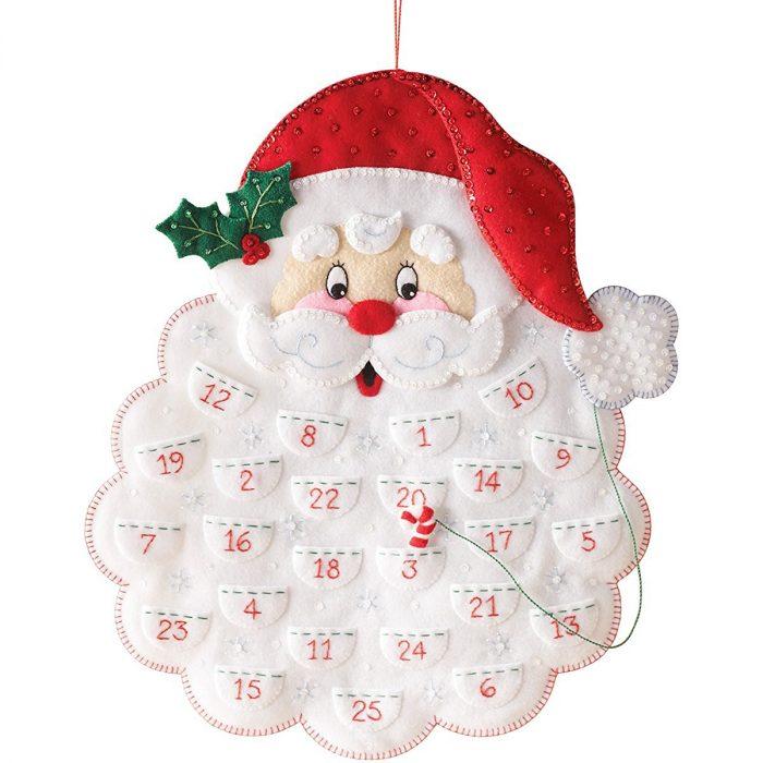 Santa Wall Hanging Calendar