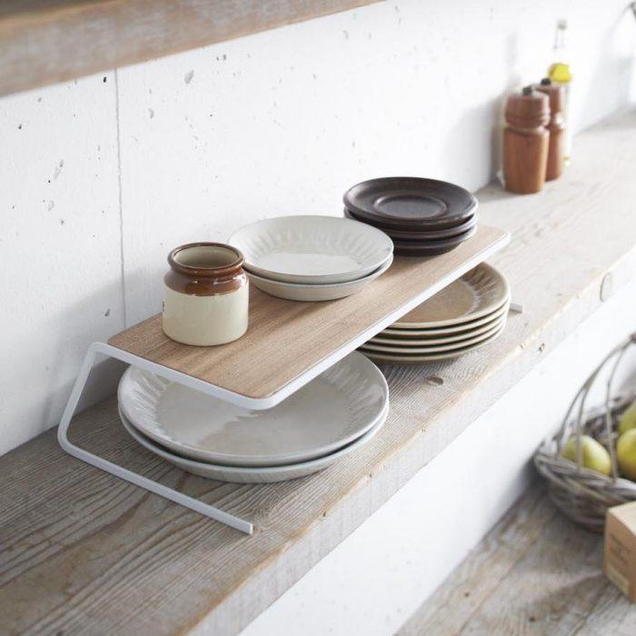 Simple Design Dish Riser