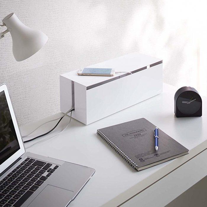 Stylish Design Web Cable Box