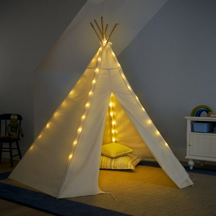 Teepee Lights Kids Teepee Tent & 23 Beautiful Kids Teepee Tents for Great Indoor Playhouse | Home ...