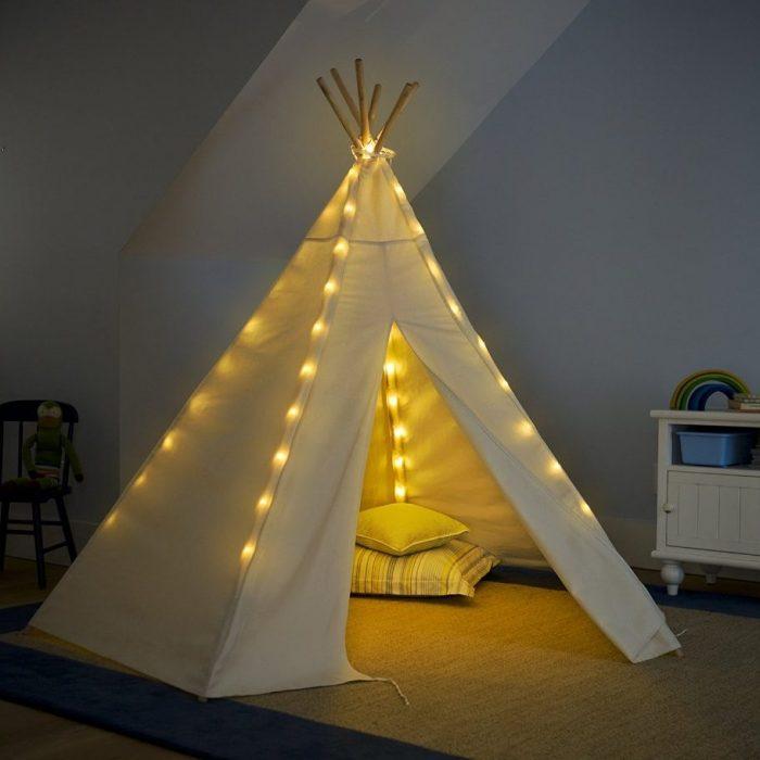 Teepee Lights Kids Teepee Tent