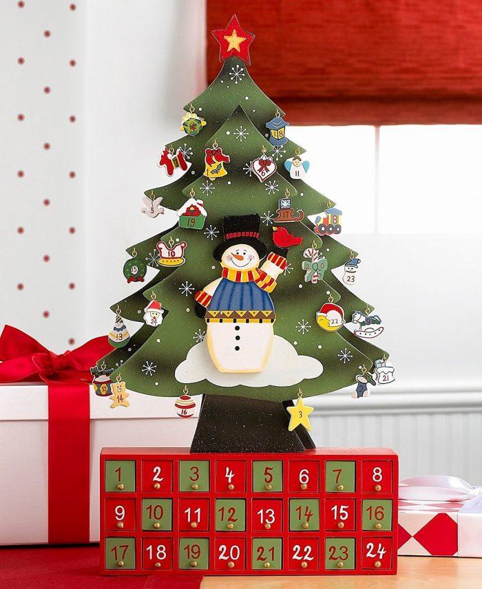 Toys Christmas Tree Advent Calendar