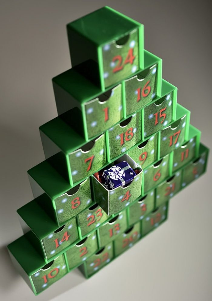 Treasure Box Advent Calendar