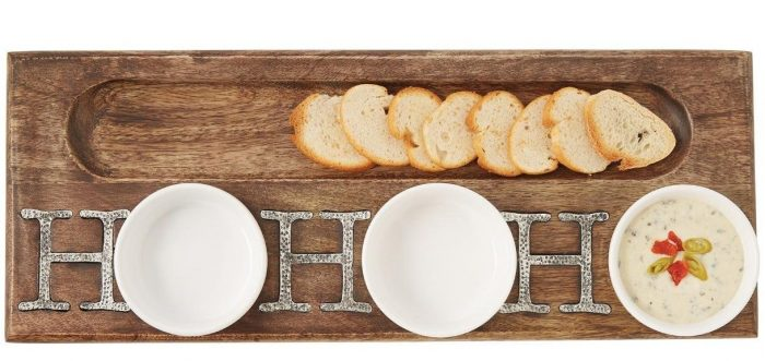 Triple Dip and Cracker Set