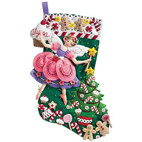 Whimsical Design Christmas Stocking