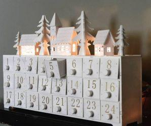 Attractive & Joyful Christmas Advent Calendar Patterns