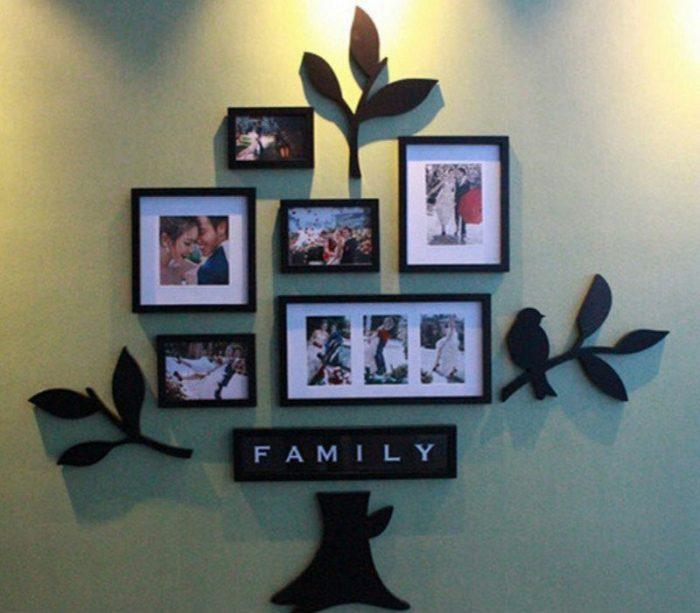 3D Black Photo Wall Decor Frame