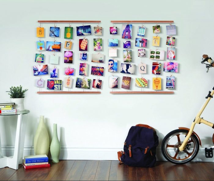 Artistic Way Hangit Photo Display