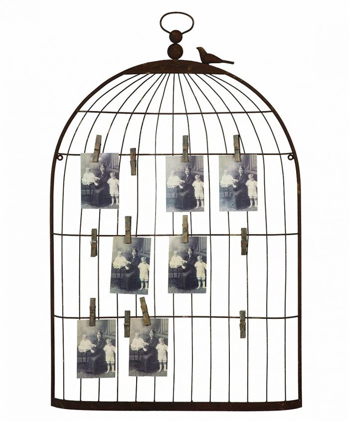 Birdcage Photo Holder