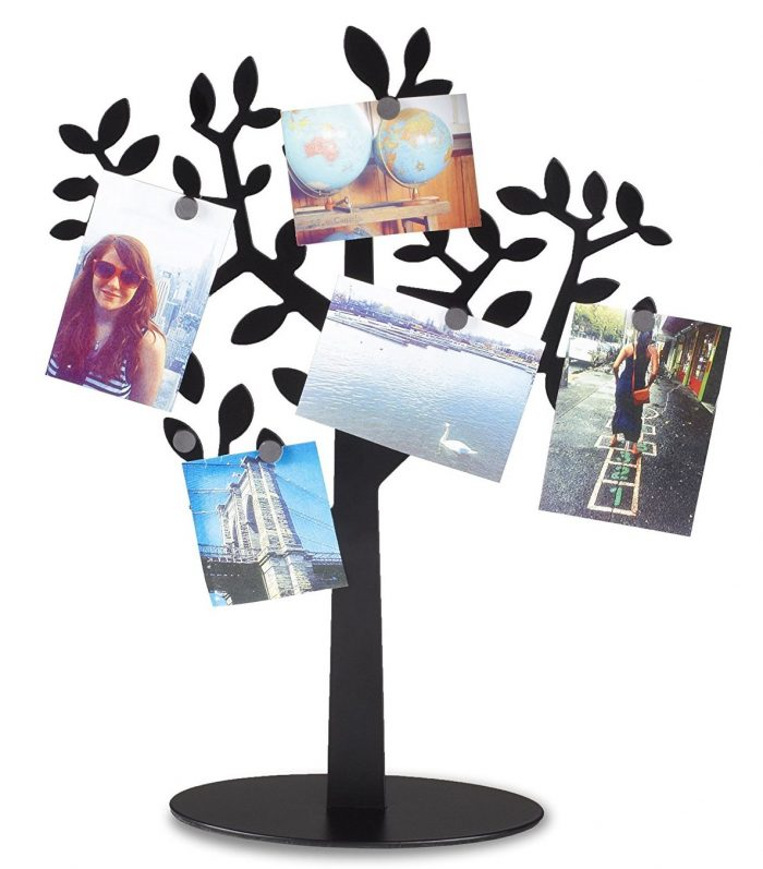 Black Magnetic Photo Tree