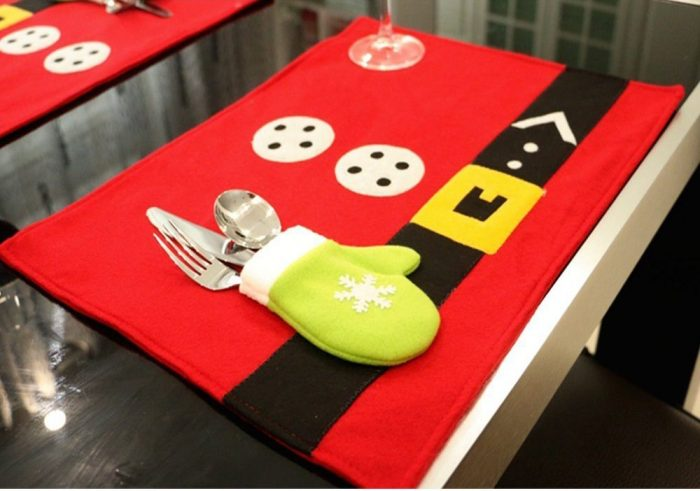 Christmas Holiday Table Placemats