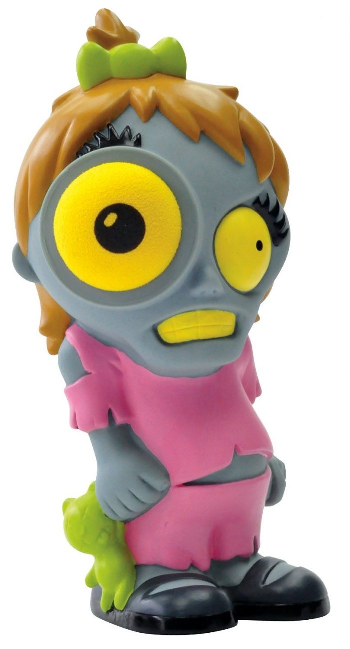 Colorful Creepy Kim Zombie Popper Toy