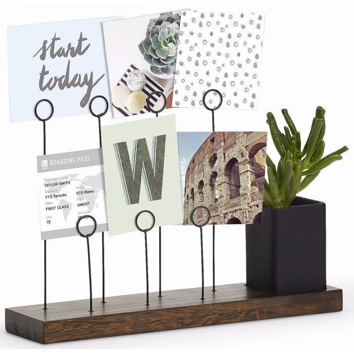 Desk Format Photo Holder