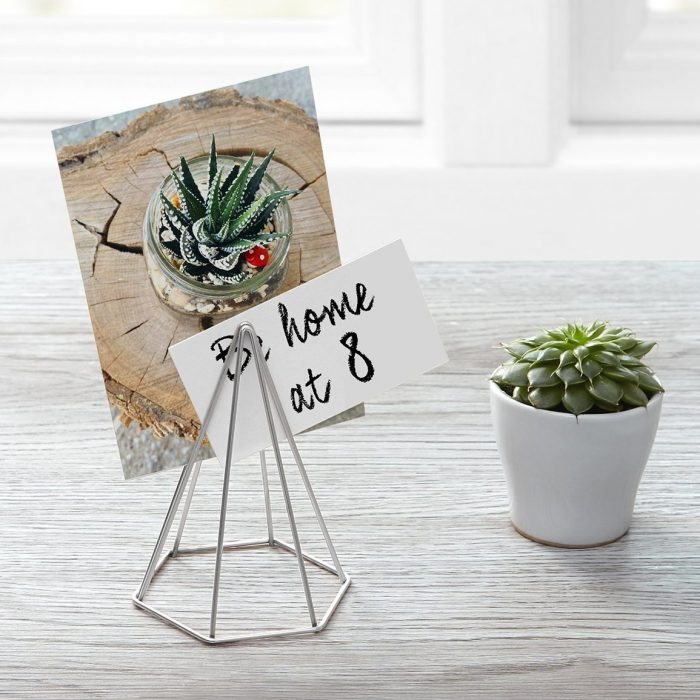 Graphic Geometric Design Photo Holder