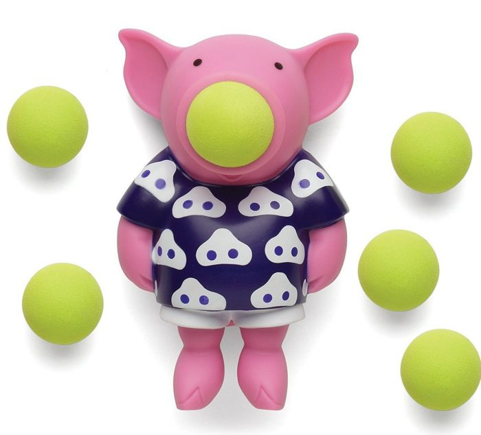 Pink and Blue Animal Popper Toy