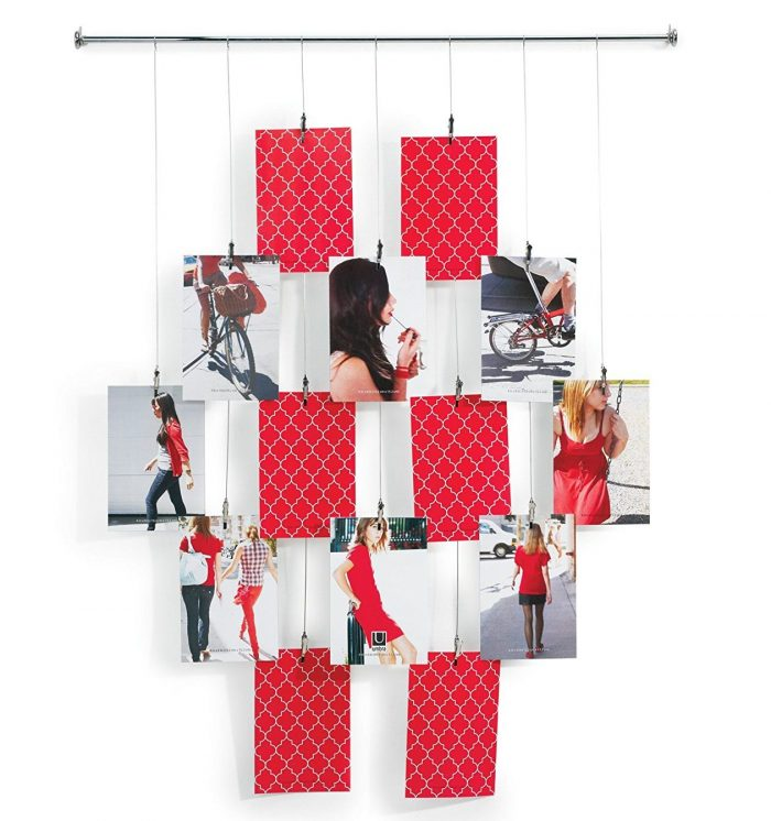 Tangle Wall-Mount Photo Holder