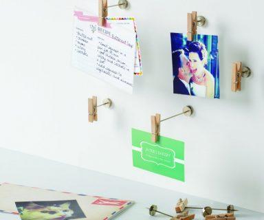Wooden Pinch Photo Display