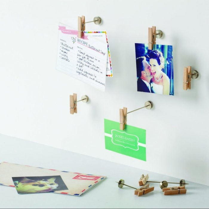 Wooden Pinch Photo Display