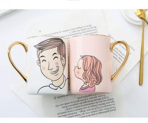 Romantic Couple Coffee Mugs