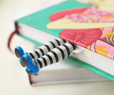 Cute Little Legs Bookmark