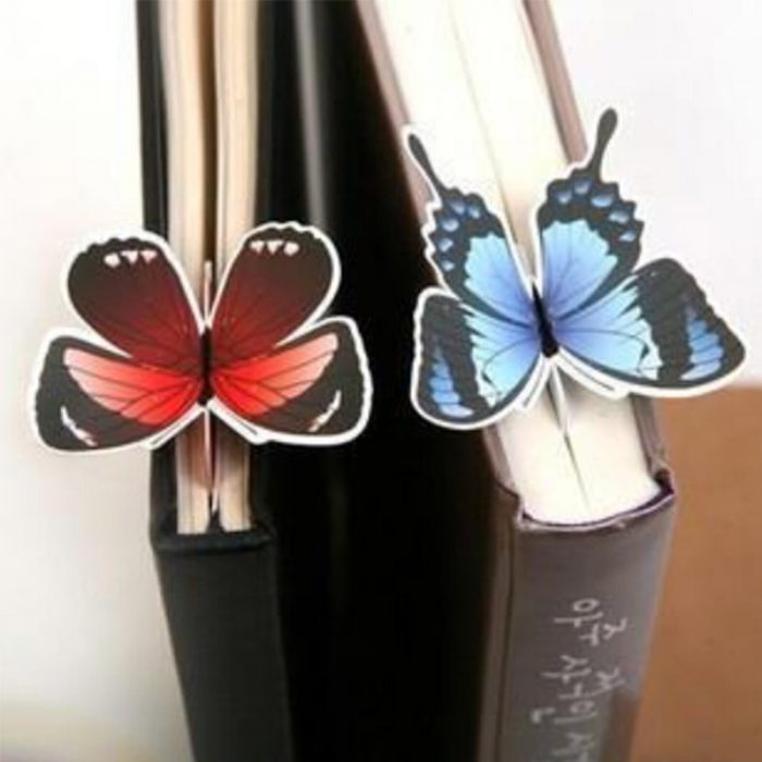 Decorative Butterfly Bookmark