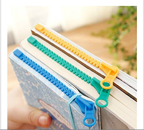 Funny Zipper Bookmark