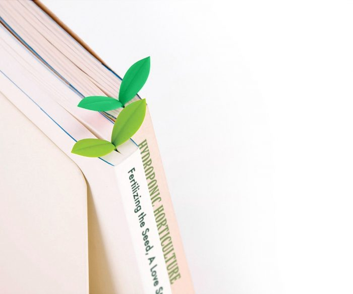 Green Sprouts Bookmarks