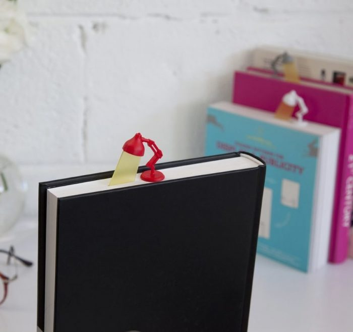 Red Lamp Shaped Bookmark