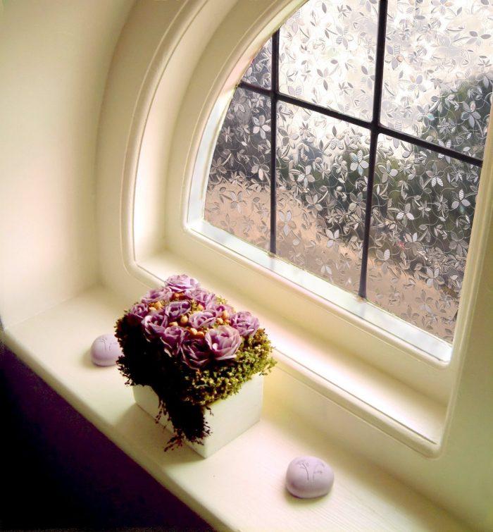 3D Blossoms Window Decorative Film