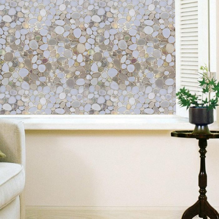 3D Cobblestone Designed Window Film