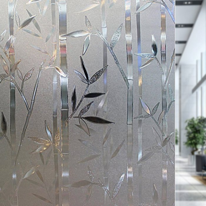 Bamboo Frosted 3D Window Film