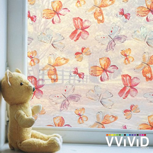 Butterfly Playroom Theme Window Film