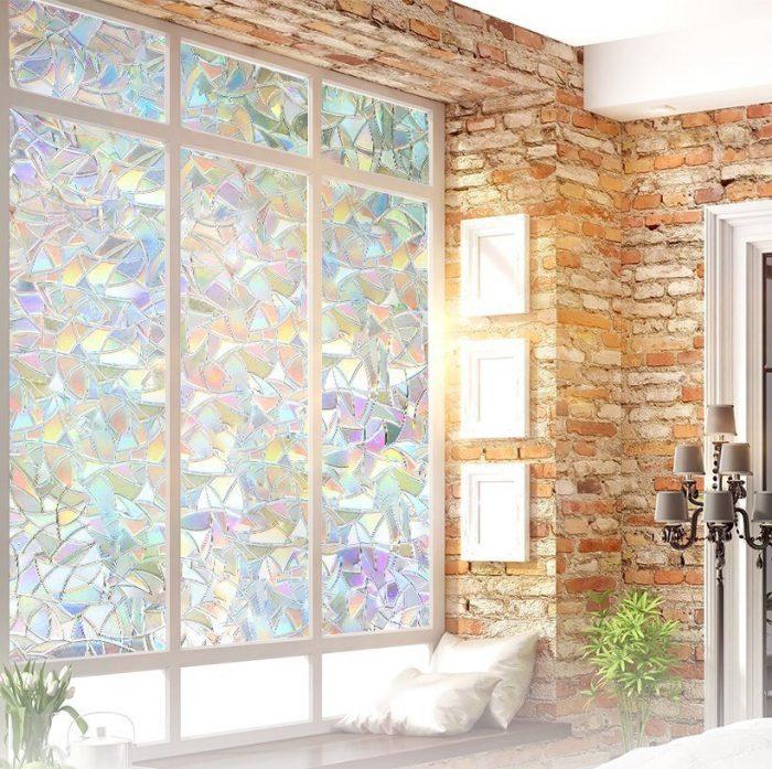 Colorful Static Decorative Window Film