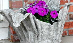 DIY Towel Planter