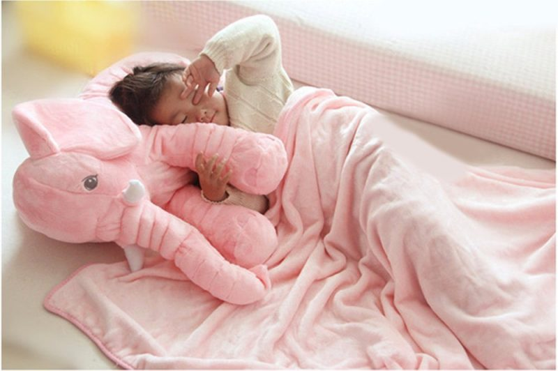 Elephant Plush Soft Toy Sleeping Pillow