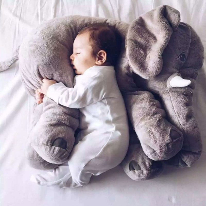 Elephant Sleeping Pillow for Toddlers